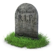 RIP Google Page Rank