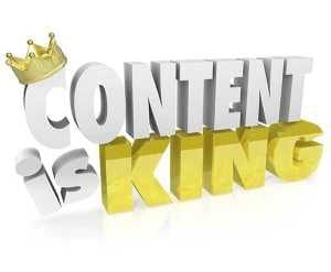 Content is kind logo and writing