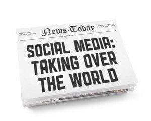web content for social media