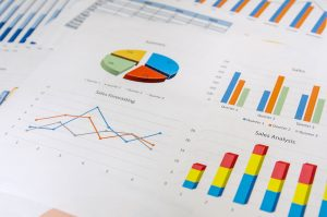 Graphs and Charts as background
