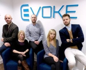 The Evoke Hair clinic team photo