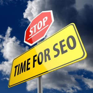 Time for SEO signpost