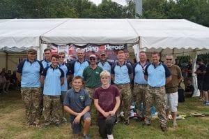Carping4Heroes RAF team 2016