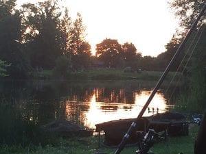 Carping4Heroes night fishing for carp