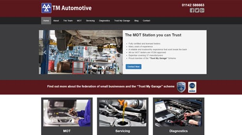 Tm automotive Homepage
