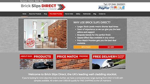 Brick Slips Homepage