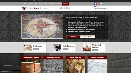 ValleyStone Homepage