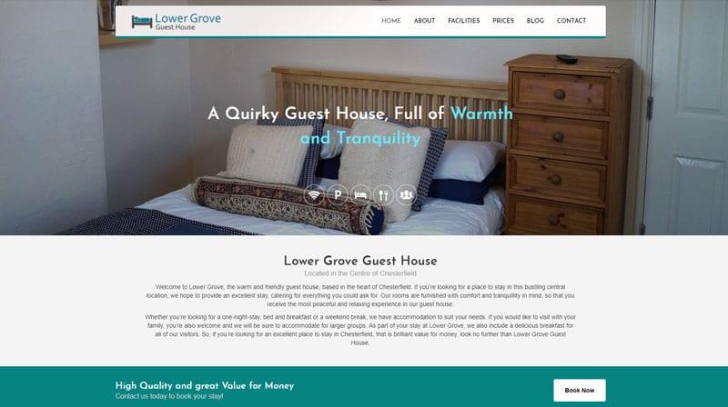 Lower Grove New Website