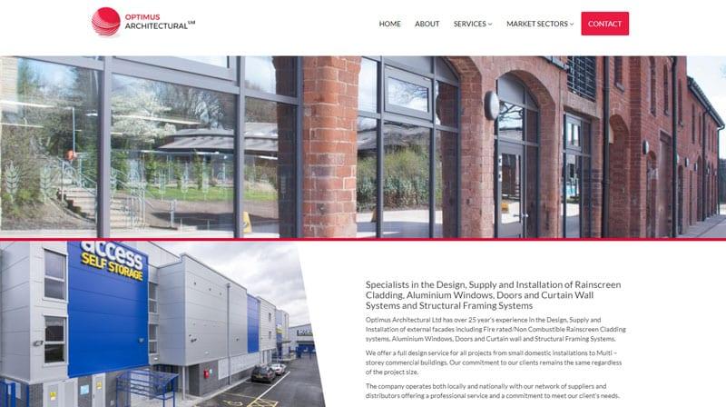 Optimus New Website