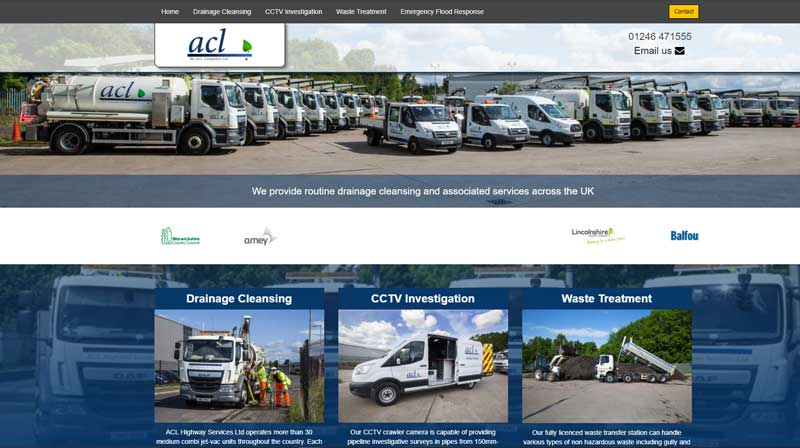 acl website redesign