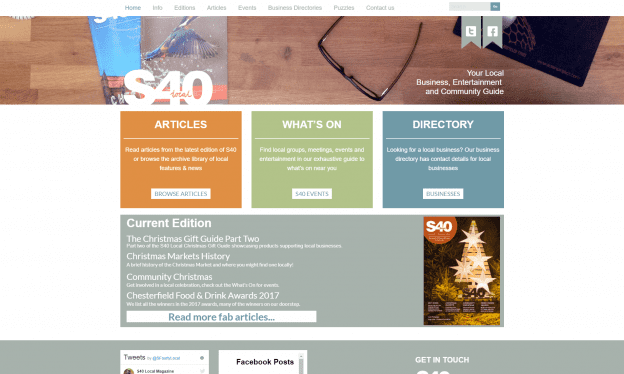 S40 Local Page
