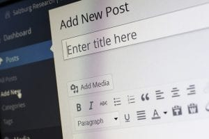 Upload WordPress Post