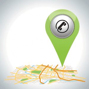 Local seo map icon