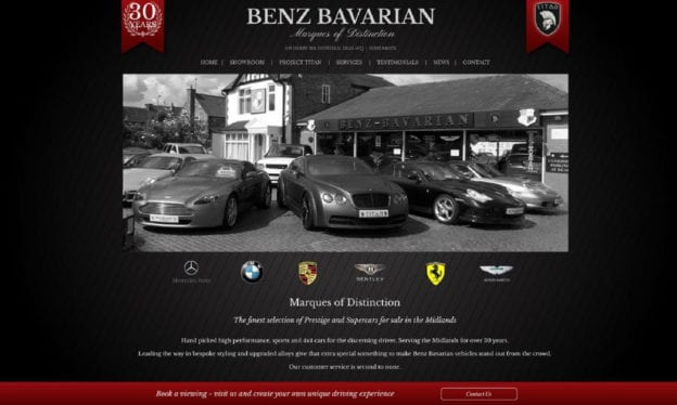 SEO CoPilot Benz Bavarian portfolio